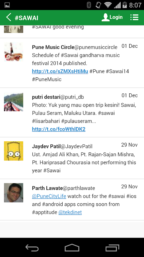 Sawai 2014 - screenshot