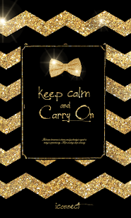 Goldribbon go sms theme