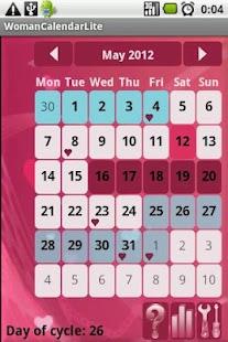 Calendario de la Mujer: miniatura de captura de pantalla