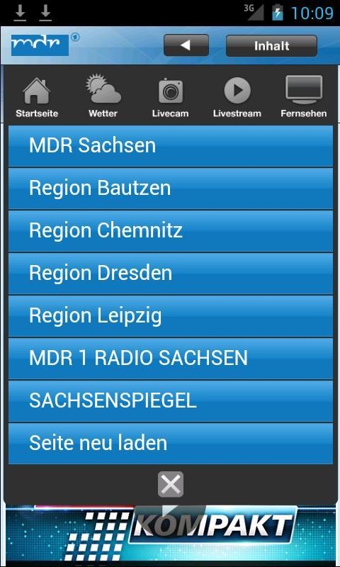 MDR Sachsen - screenshot