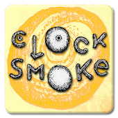Clock Smoke Wallpaper