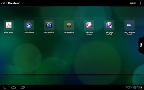 Citrix Receiver - screenshot thumbnail