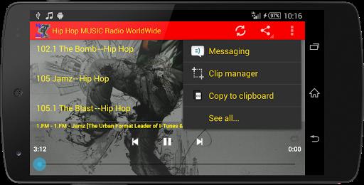 Hip Hop MUSIC Radio WorldWide  screenshots 13