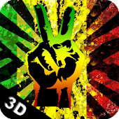 Reggae Peace 3D Live Wallpaper