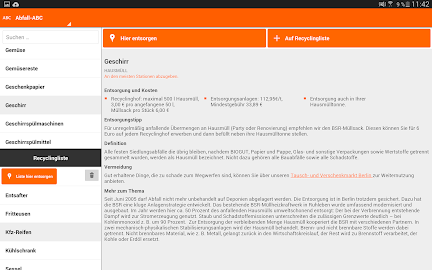 Abfall-App | BSR Screenshot 10