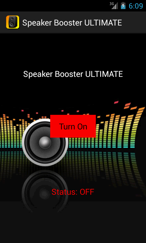 Speaker Booster ULTIMATE - screenshot