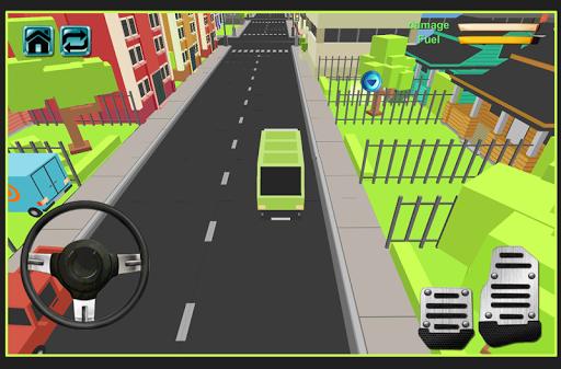 玩免費模擬APP|下載垃圾自卸車停車場 app不用錢|硬是要APP
