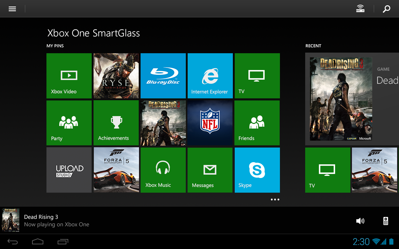 Xbox one smartglass android apps on google play Play app