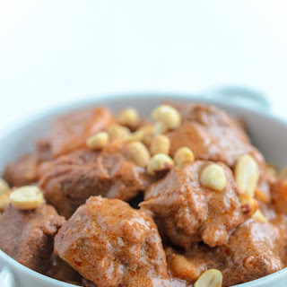 Massaman Curry with Beef.