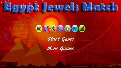 Egypt Jewels Match