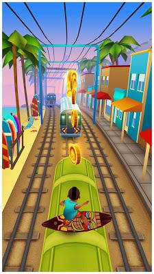 أحدث اصدارات اللعبه الشيقه كامله Subway Surfers v1.35.0 مهكره ذهب ومفاتيح لا تنتهى