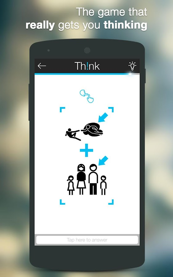 Screenshots of Think for iPhone