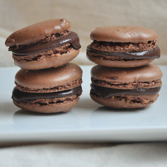 Chocolate French Macarons Recipe