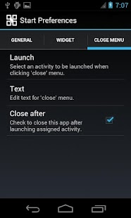 Start menu for Android (AD) - screenshot thumbnail