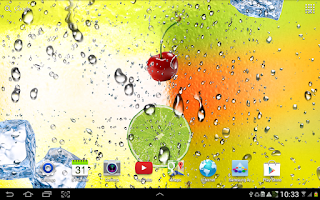 Screenshot of Juicy Live Wallpaper