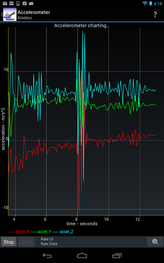 Sensor Kinetics- screenshot
