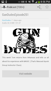 Gun Dudes Radio Podcast- screenshot thumbnail