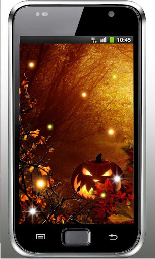 Halloween Fireflies HD LWP