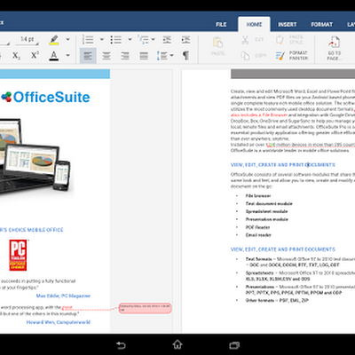 OfficeSuite 8 Pro + PDF v8.2.3620 APK