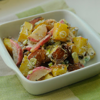 Roasted Radish and Potato Salad with Black Mustard and Cumin Seed Recipe