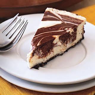 Chocolate Marble Cheesecake.