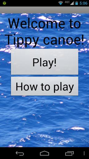 Tippy Canoe