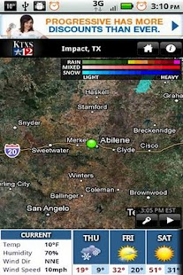 KTXS Wx - screenshot thumbnail