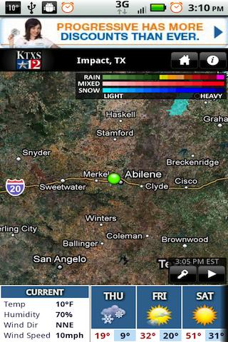 KTXS Wx - screenshot