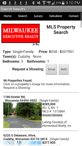 Milwaukee Real Estate Search 1.4 screenshots 3