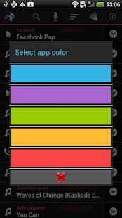 Mp3 Ringtone Factory- screenshot thumbnail