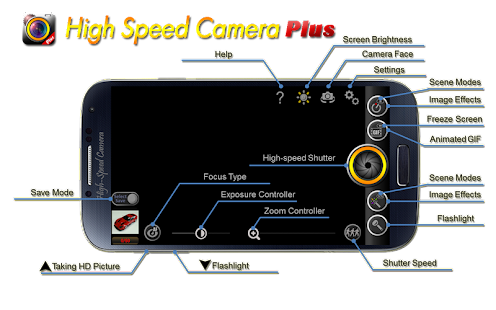 High-Speed Camera Plus - screenshot thumbnail