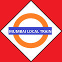 Mumbai Local train map icon