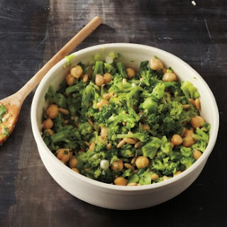 Broccoli and Chickpea Salad