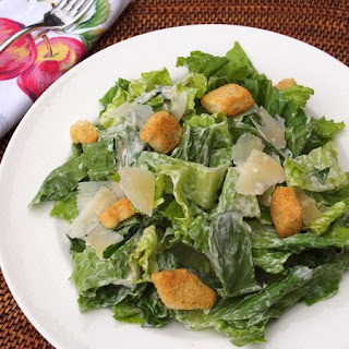 Homemade Caesar Salad Dressing