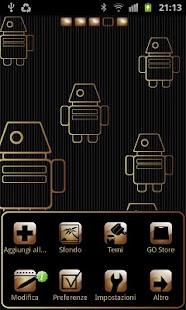 My Gold theme GO launcher EX- screenshot thumbnail