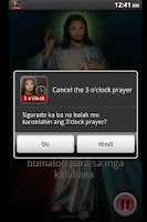 Screenshot of 3 o'clock Prayer