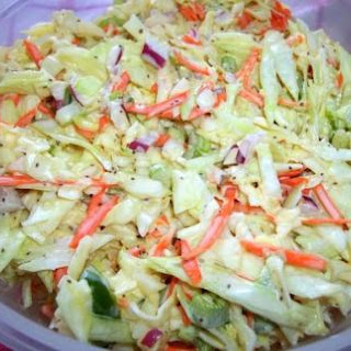 Colorful ~ Tasty ~ Coleslaw