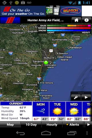 WTOC Doppler Max 11 Weather - screenshot