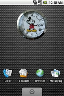Mickey Mouse Clock Widget 2x2 - screenshot thumbnail