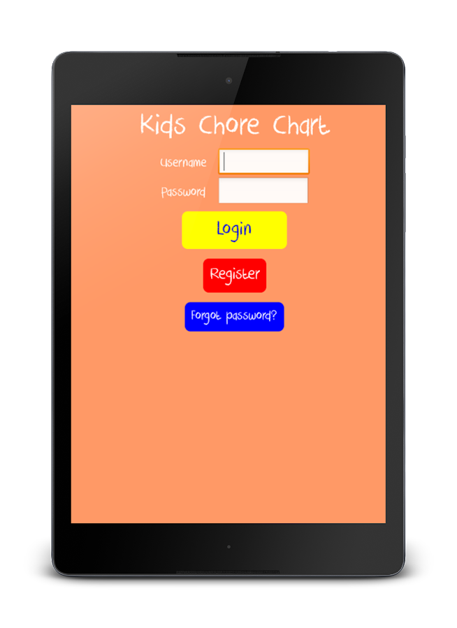 Kids Chore Chart- screenshot