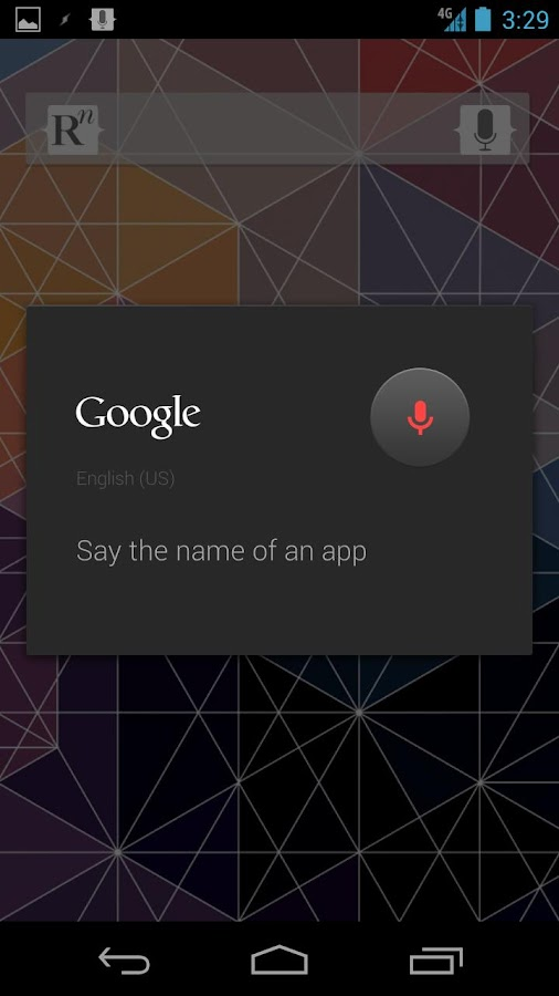 SayIt - Voice Launcher - screenshot
