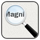 Magnifier, Magnifying Glass with Flashlight icon