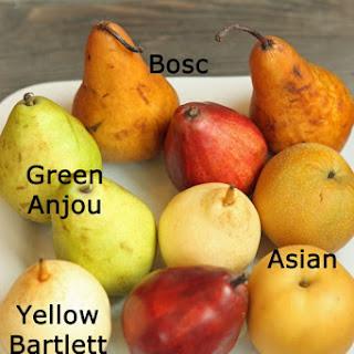 Rainbow Pear Crisp