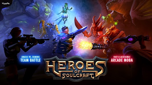 Heroes of SoulCraft - MOBA v0.9.8
