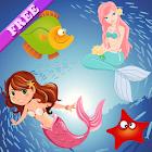 美人鱼 为孩子们的困惑 - 小女孩游戏 icon