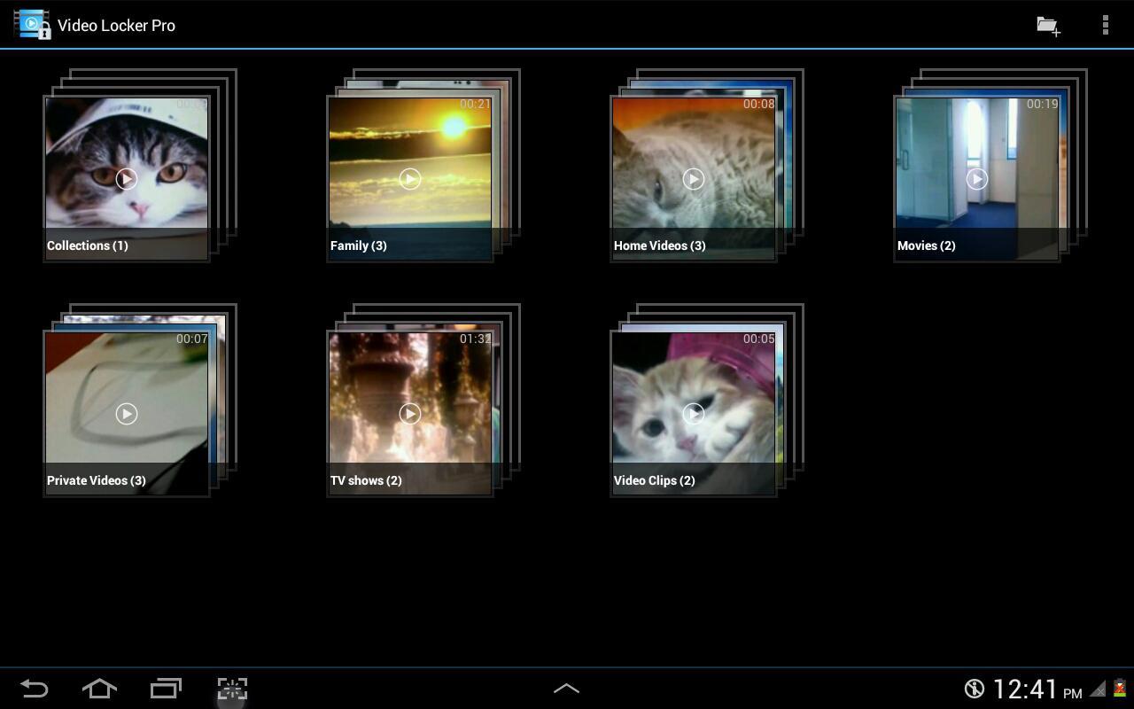 Video Locker Pro - screenshot