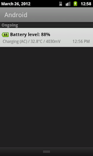 Battery Widget+ - screenshot thumbnail