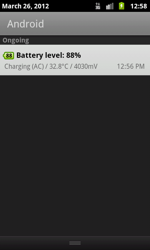 Battery Widget+ (% Indicator)- screenshot