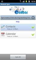 Screenshot of Mokobi Sync
