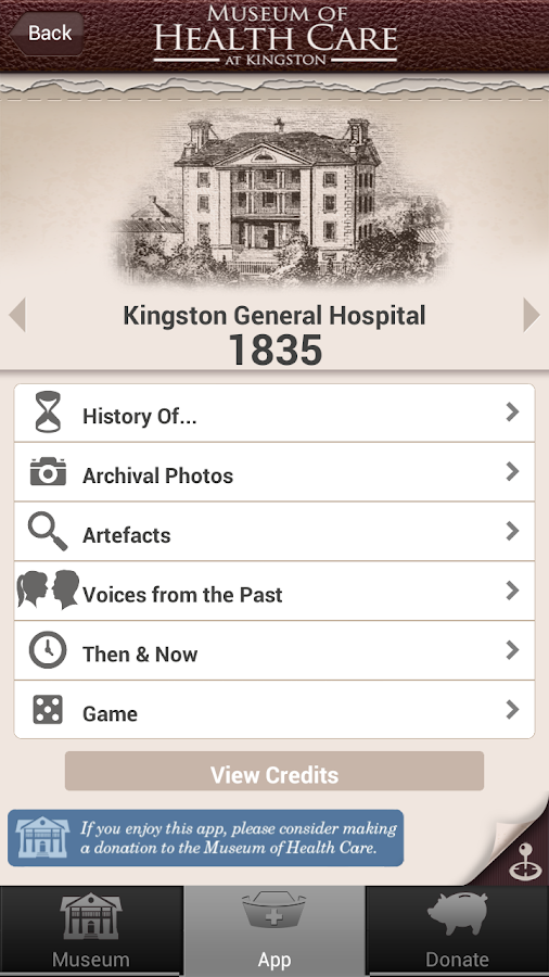 Transforming KGH, 1835-1914- screenshot